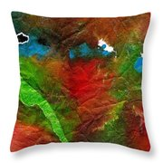 An Earthy Feeling Throw Pillow