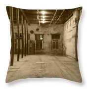 An Empty Lusty Lady Throw Pillow