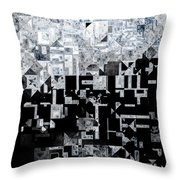 An Evening At The Gallery Throw Pillow