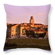 An Evening In Arles  Throw Pillow