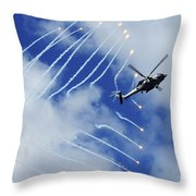An Hh-60h Sea Hawk Helicopter Releases Throw Pillow