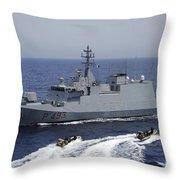 An Italian Visit, Board, Search Throw Pillow