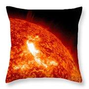 An M8.7 Class Flare Erupts On The Suns Throw Pillow