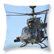 An Oh-58 Kiowa Takes Throw Pillow