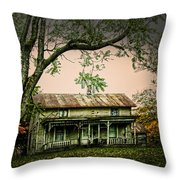 An Old Home Place Throw Pillow