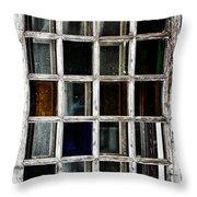 An Old Window Pane Throw Pillow