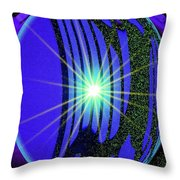An Orb In Abstract 2 Throw Pillow