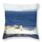 An Sh-60f Seahawk Helicopter Follows Throw Pillow