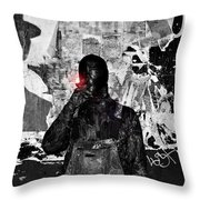 An Ybor City Smoke Throw Pillow