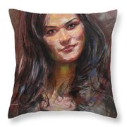 Ana 2012 Throw Pillow