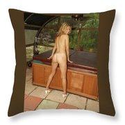 Ana Paula 323 Throw Pillow