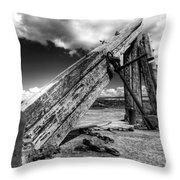 Anchor Sculpture Throw Pillow