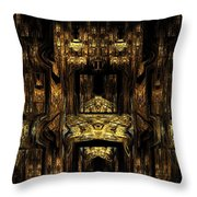 Ca389 Throw Pillow