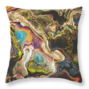 Ancient Cut Stone  Throw Pillow