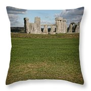Ancient Stones Throw Pillow