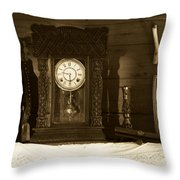 Ancient Times Throw Pillow