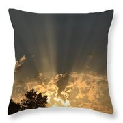 And Is To Come Throw Pillow