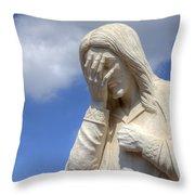 And Jesus Wept IIi Throw Pillow