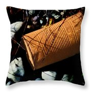 And Some Fell On Stony Ground Throw Pillow