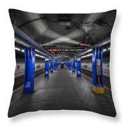 And Then The Silence... Throw Pillow