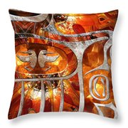 And You See That Crazy Sun Throw Pillow