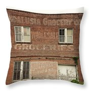 Andalusia Grocery Co Throw Pillow