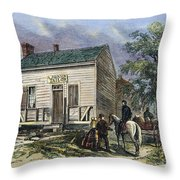 Andrew Johnson: Tailor Throw Pillow