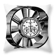 Anemometer, 20th Century Throw Pillow