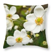 Anemonae Cluster 7 Throw Pillow