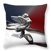 Angel Hood Ornament Throw Pillow