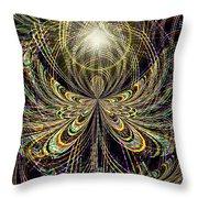 Angel In The Midst Throw Pillow