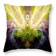 Angel Of Abundance Throw Pillow