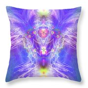 Angel Of Ascension Throw Pillow