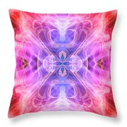 Angel Of Compassion Throw Pillow