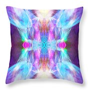 Angel Of Enlightenment Throw Pillow