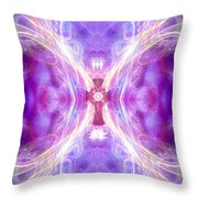 Angel Of Redemption Throw Pillow