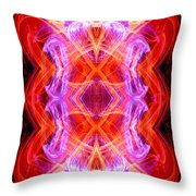 Angel Of Tantra Throw Pillow
