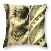 Angel Of The Basilica Throw Pillow