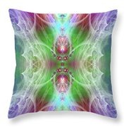 Angel Of The Faery Realm Throw Pillow