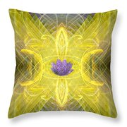 Angel Of The Moon Throw Pillow