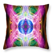 Angel Of Unity Throw Pillow