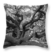 Angel Tree II Throw Pillow