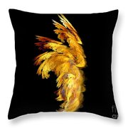 Angel Wings 1 Throw Pillow by Kim Sy Ok
