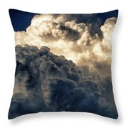 Angels And Demons Throw Pillow by Syed Aqueel