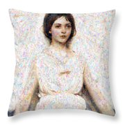 Angels In Our Midst Throw Pillow