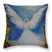 Angels Prayer Throw Pillow