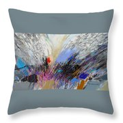 Angels Presence 3 Throw Pillow