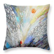 Angels Presence Throw Pillow