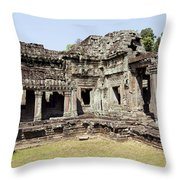 Angkor Archaeological Park Throw Pillow
