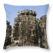 Angkor Thom IIi Throw Pillow